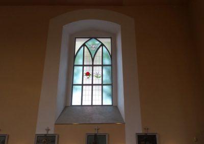Reming - hliniková okna - gotická okna