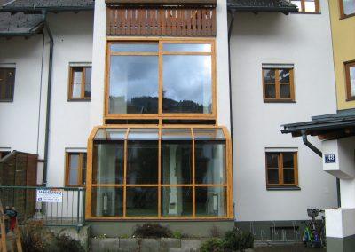 Zimní zahrada bytového domu z hliníku