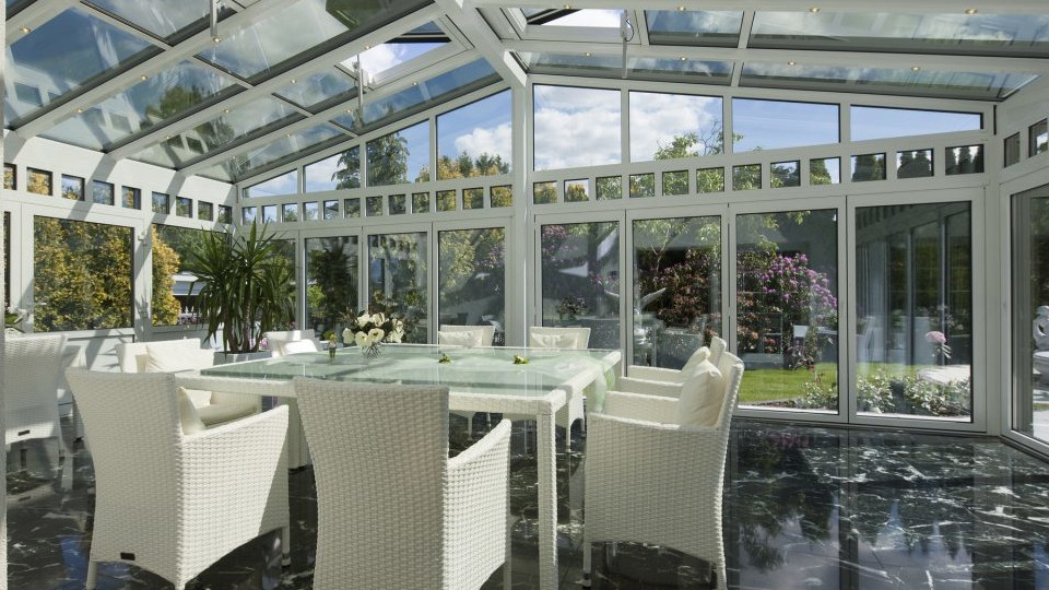 Reming - hliniková okna - zimní zahrady